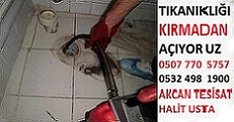 Başiskele Tıkalı Boru Açma Fiyatları 100 tl