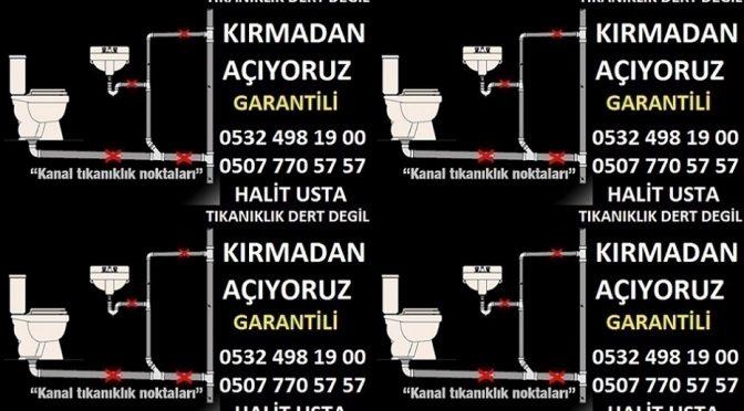 Tıkalı lavabo açıcı Pendik Ahmet Yesevi