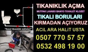 TIKALI LAVABO Açan Sultanbeyli Ahmet Yesevi Mahallesi