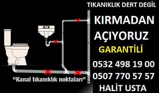 MUTFAK borusu açıcı SULTANBEYLİ Akşemşettin
