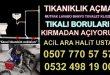 Lavabo Açıcı Firma KARTAL