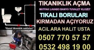 Lavabo Açıcı Firma TUZLA