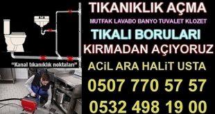 Lavabo Açıcı Firma SULTANBEYLİ