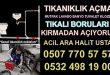 Tıkalı Mutfak Borusu Açma Çekmeköy