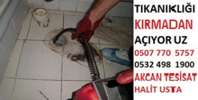 Ataşehir Tıkalı Boru Açma Fiyatları 100 tl