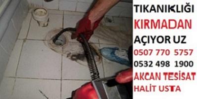 Kadıköy Tıkalı Boru Açma Fiyatları 100 tl