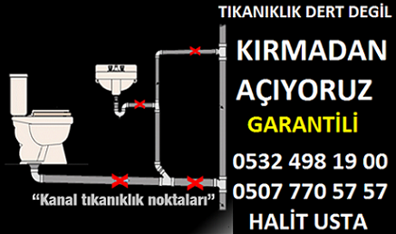Mutfak tıkanıklık açma Kadıköy