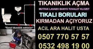 Lavabo Açıcı Firma ATAŞEHİR